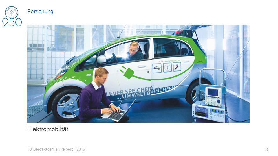 Elektromobiltät Forschung