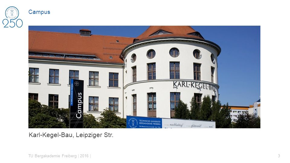 Karl-Kegel-Bau, Leipziger Str.