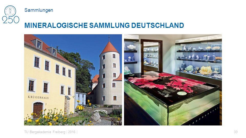 Mineralogische Sammlung Deutschland