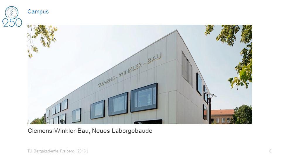 Clemens-Winkler-Bau, Neues Laborgebäude