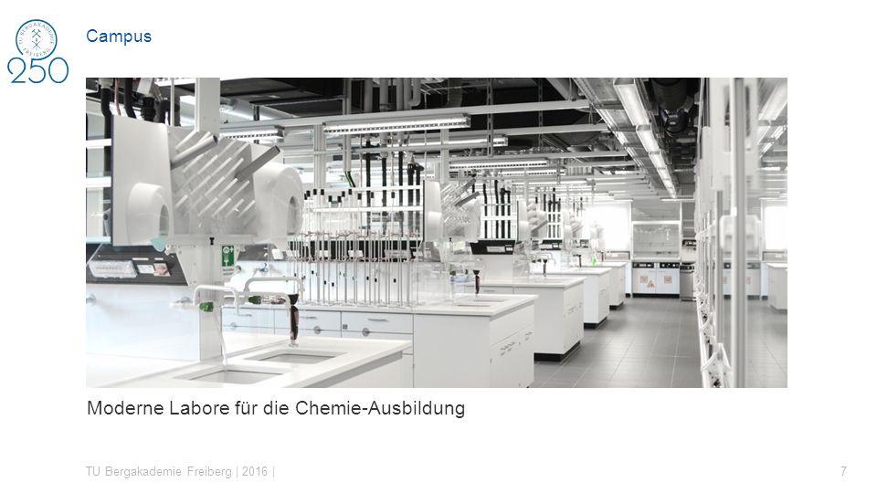 Moderne Labore für die Chemie-Ausbildung