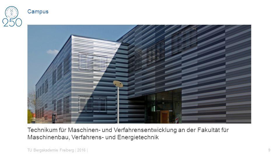 Campus Technikum für Maschinen- und Verfahrensentwicklung an der Fakultät für Maschinenbau, Verfahrens- und Energietechnik.