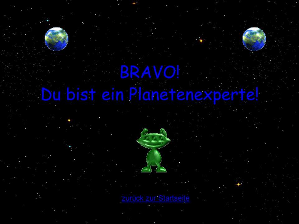 Du bist ein Planetenexperte!