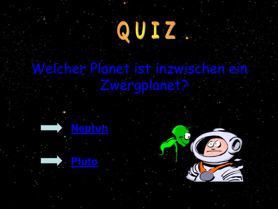 Welcher Planet ist inzwischen ein Zwergplanet