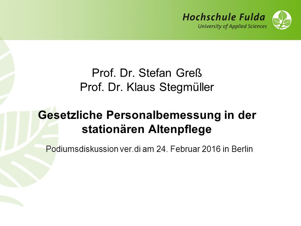 Podiumsdiskussion ver.di am 24. Februar 2016 in Berlin