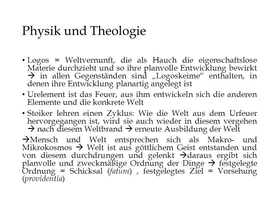 Physik und Theologie