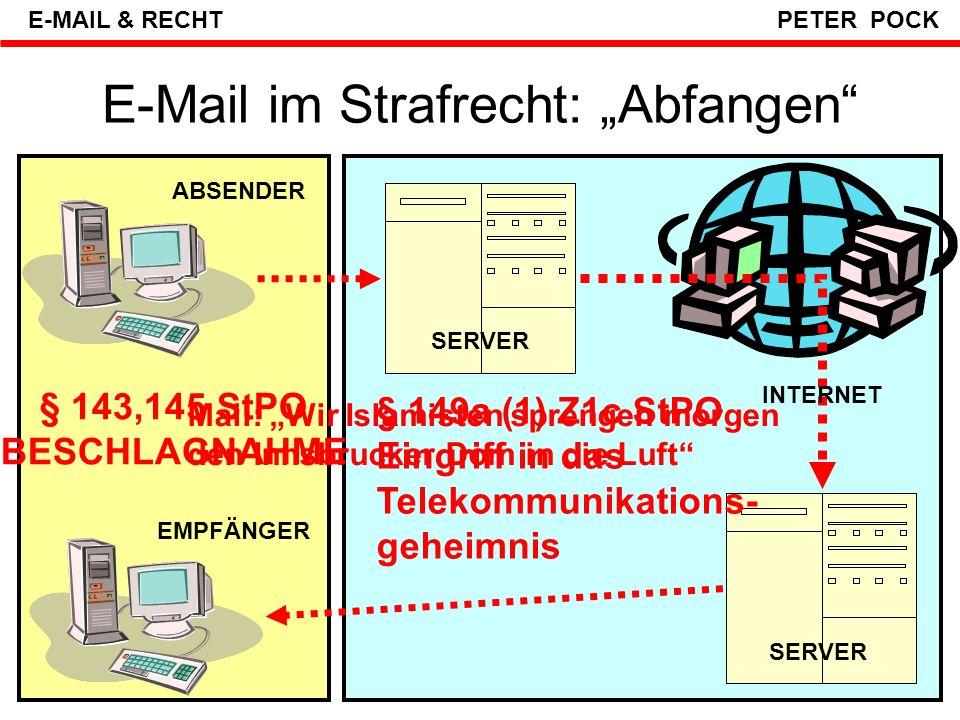 """E-Mail im Strafrecht: """"Abfangen"""