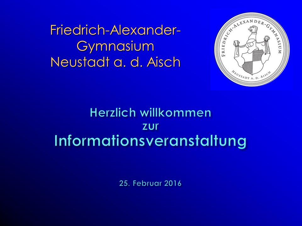 Friedrich-Alexander-Gymnasium Neustadt a. d. Aisch