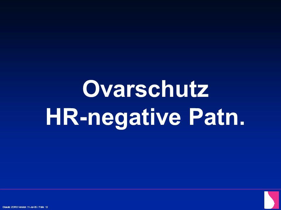 Ovarschutz HR-negative Patn.