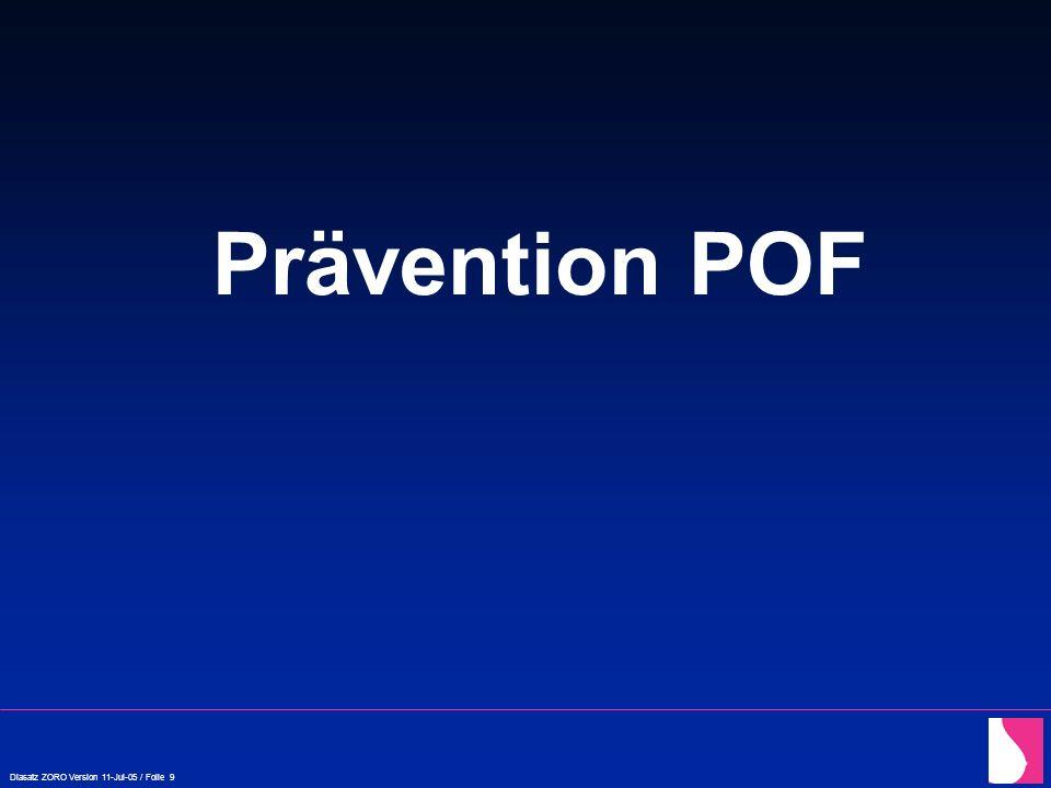 Prävention POF