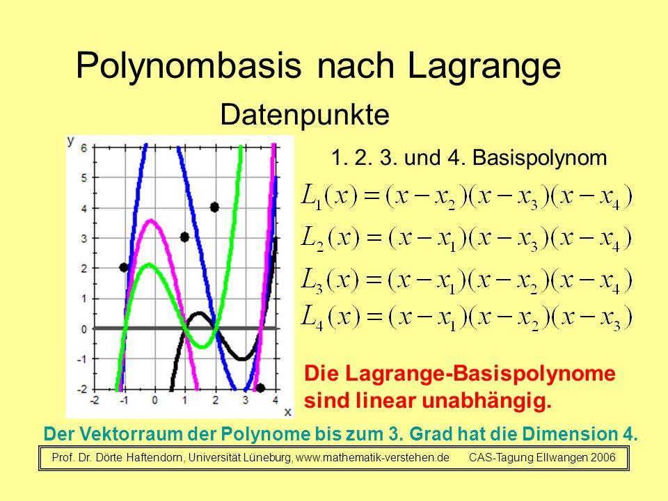 Polynombasis nach Lagrange