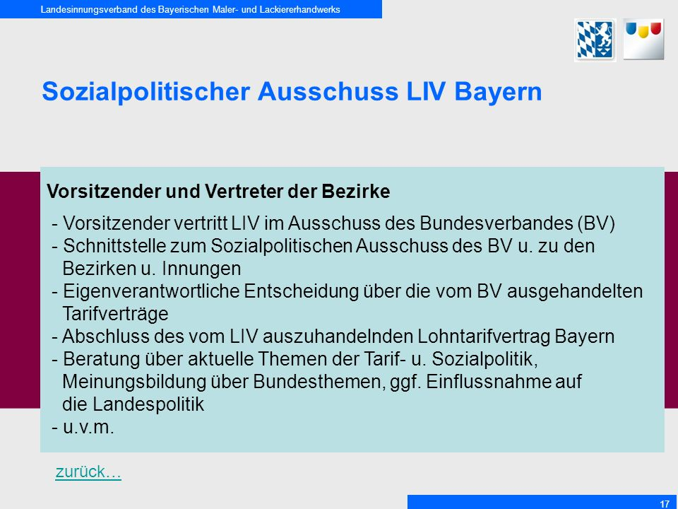Sozialpolitischer Ausschuss LIV Bayern