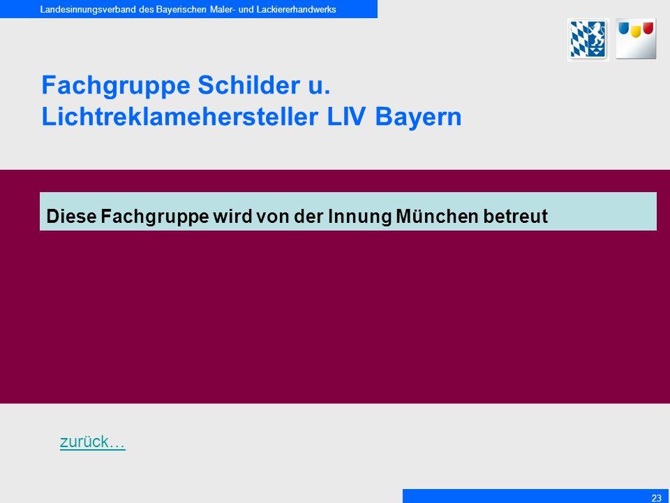 Lichtreklamehersteller LIV Bayern