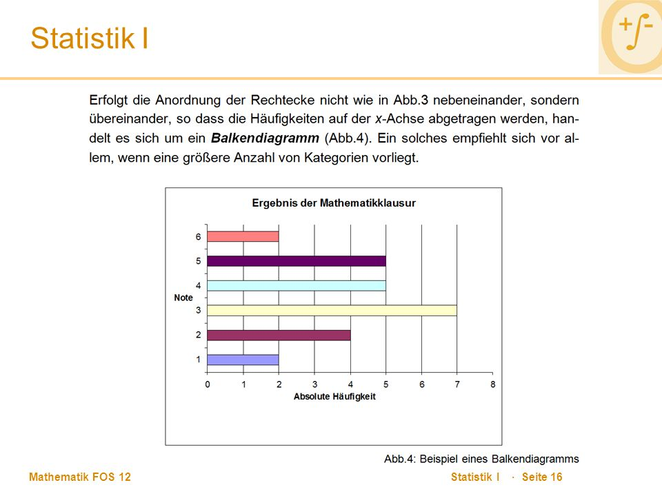 Statistik I