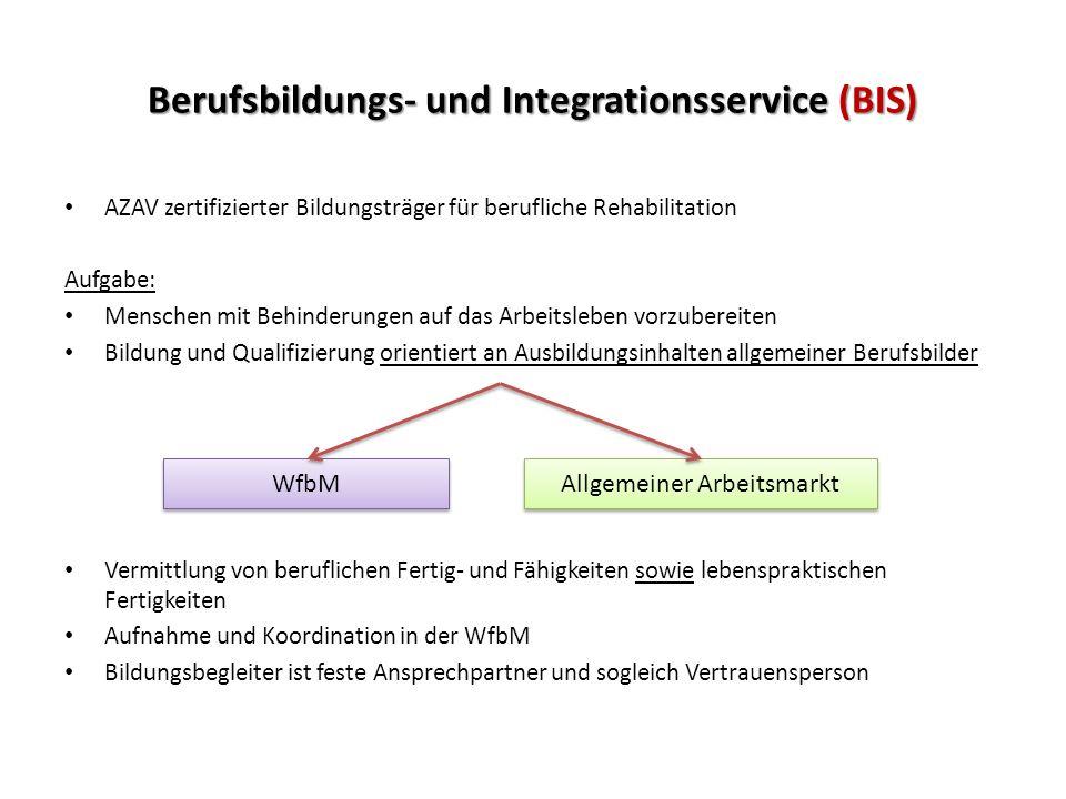 Berufsbildungs- und Integrationsservice (BIS)