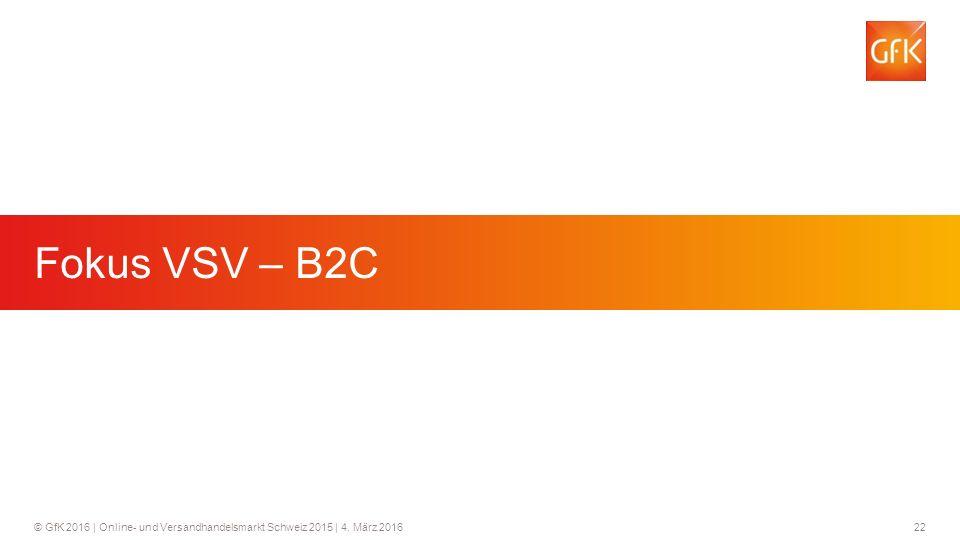 Fokus VSV – B2C Fokus VSV - B2C