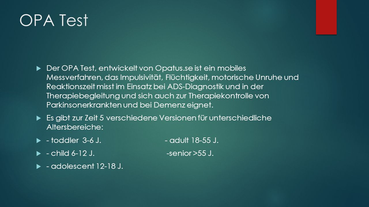 OPA Test