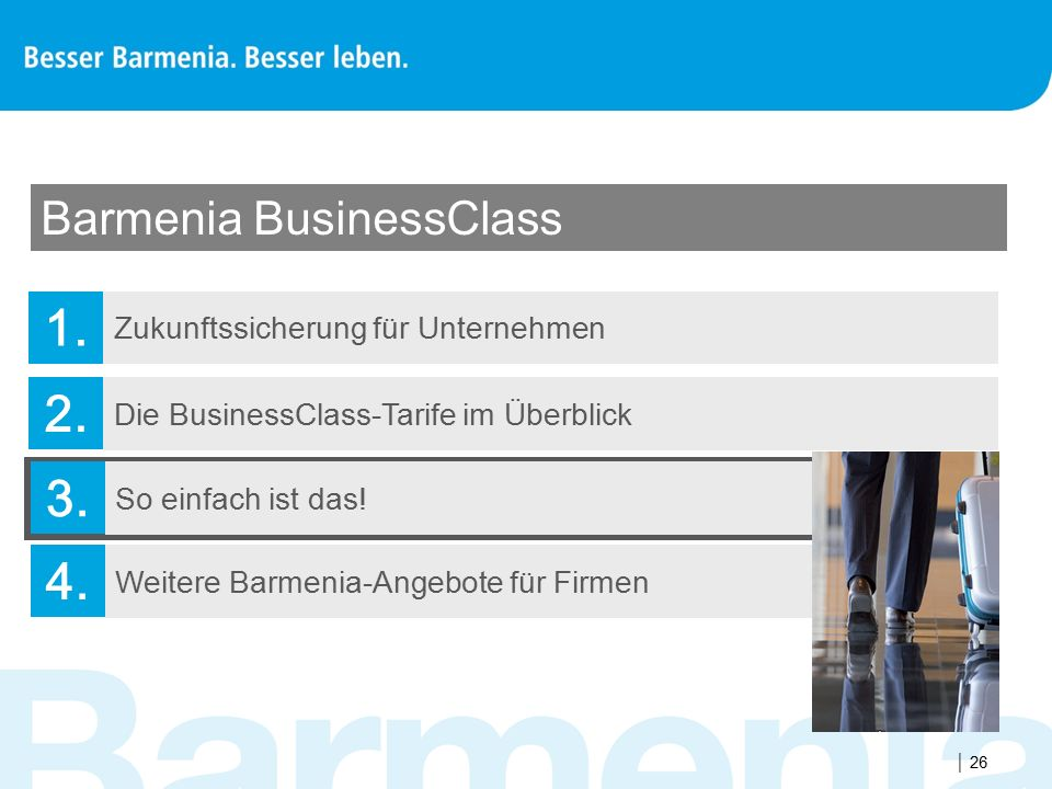 Barmenia BusinessClass