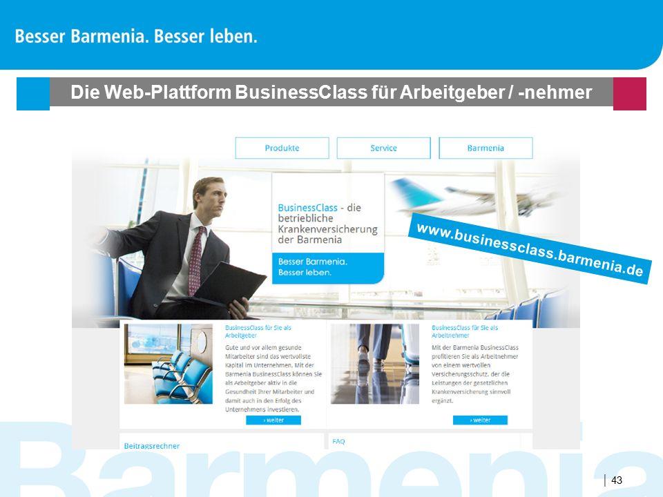 Die Web-Plattform BusinessClass für Arbeitgeber / -nehmer