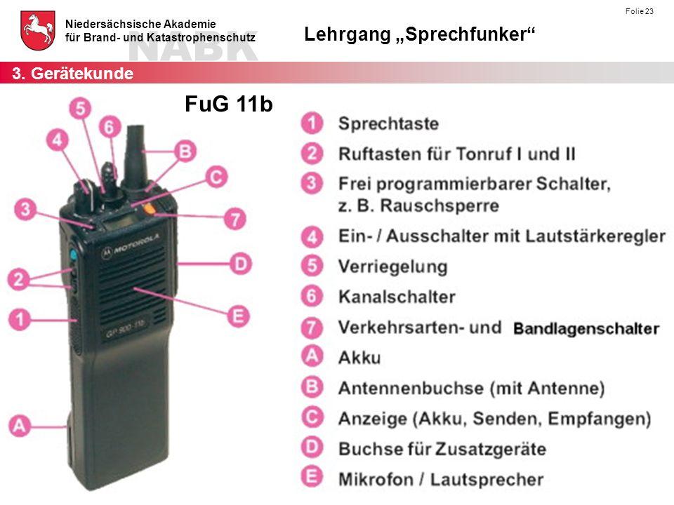 3. Gerätekunde FuG 11b