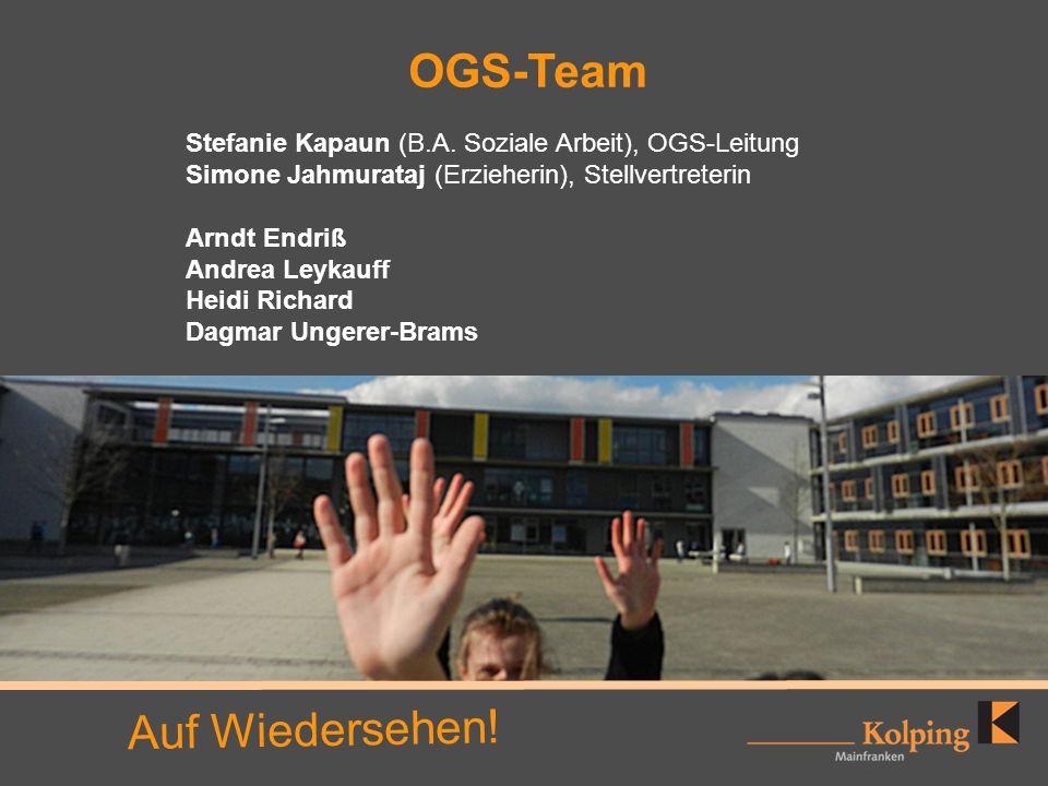 OGS-Team Auf Wiedersehen!