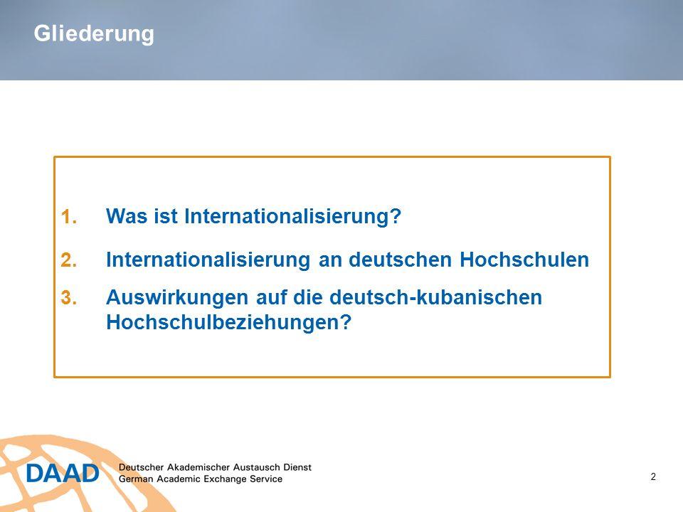Gliederung Was ist Internationalisierung