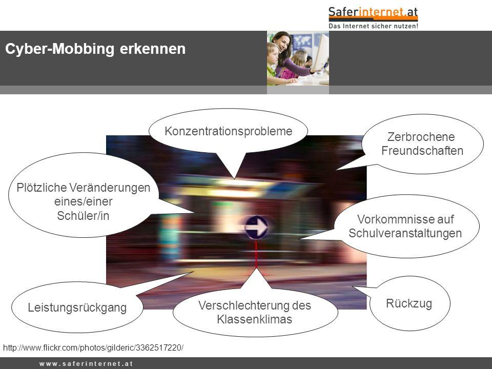 Cyber-Mobbing erkennen