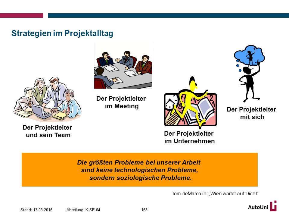 Strategien im Projektalltag
