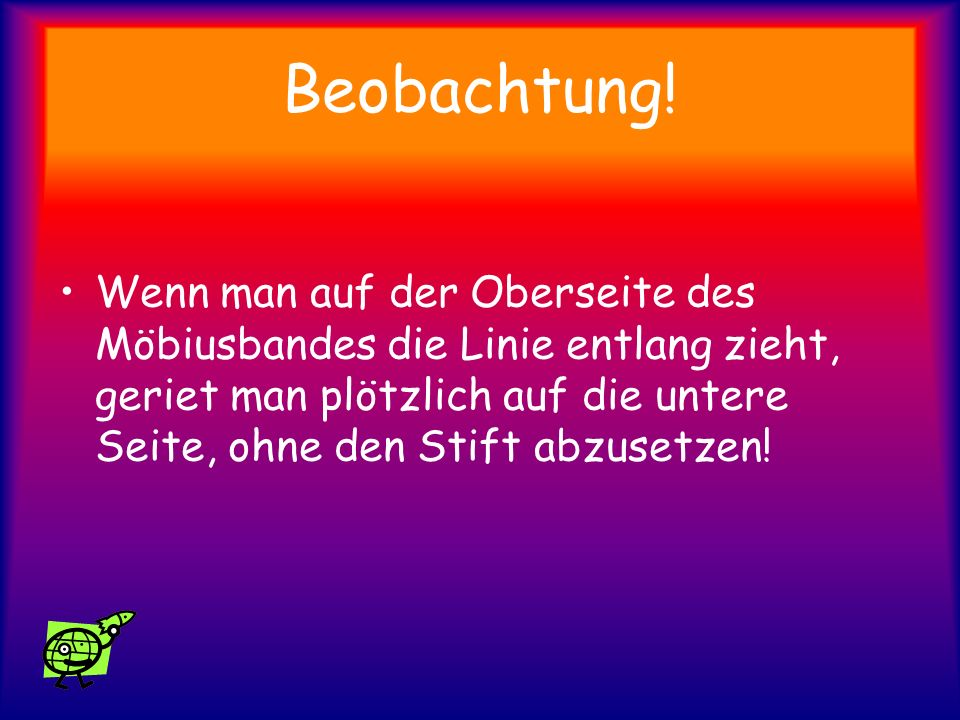 Beobachtung!