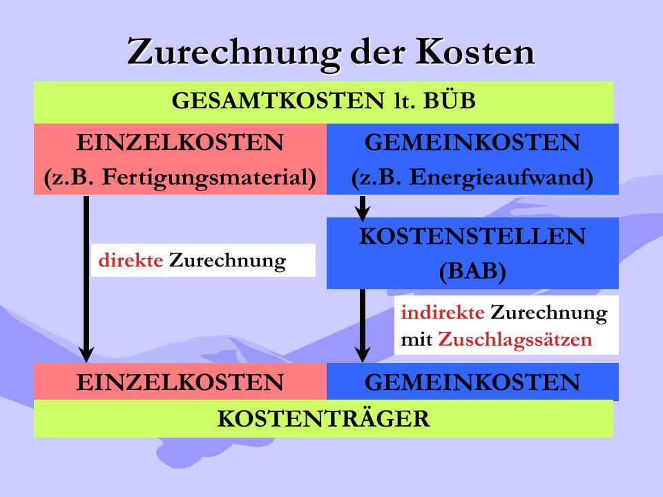 (z.B. Fertigungsmaterial)