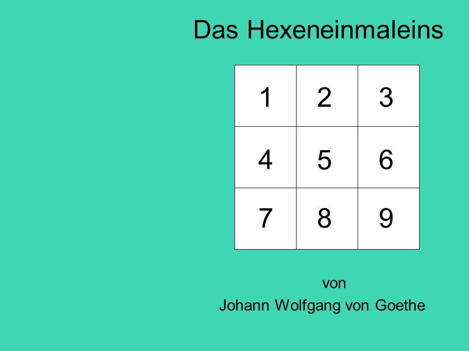 von Johann Wolfgang von Goethe