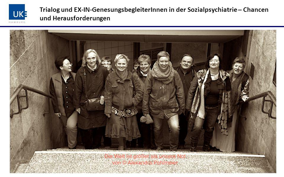 Trialog und EX-IN-GenesungsbegleiterInnen in der Sozialpsychiatrie – Chancen und Herausforderungen