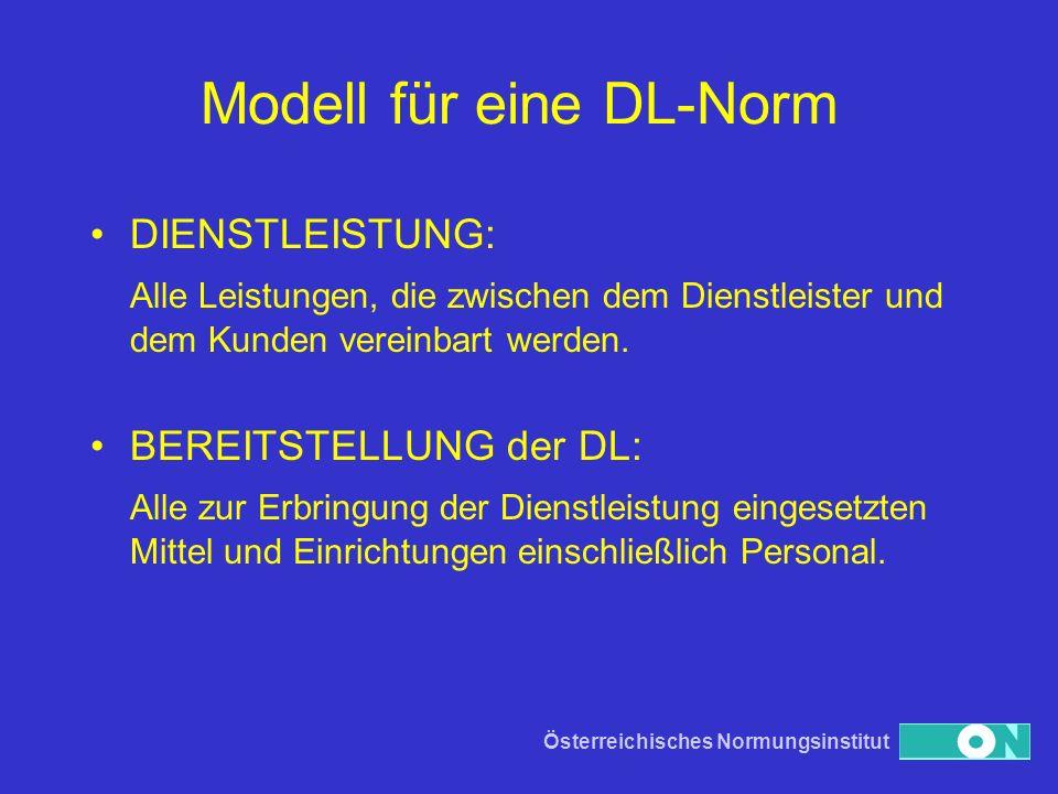 Modell für eine DL-Norm