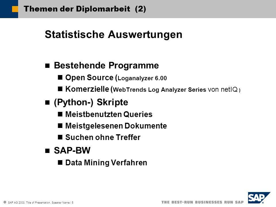 Themen der Diplomarbeit (2)