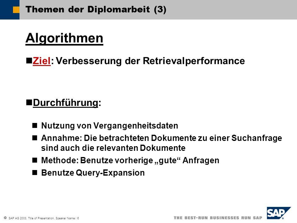 Themen der Diplomarbeit (3)