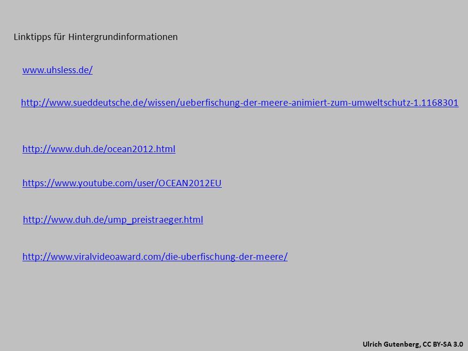 Linktipps für Hintergrundinformationen