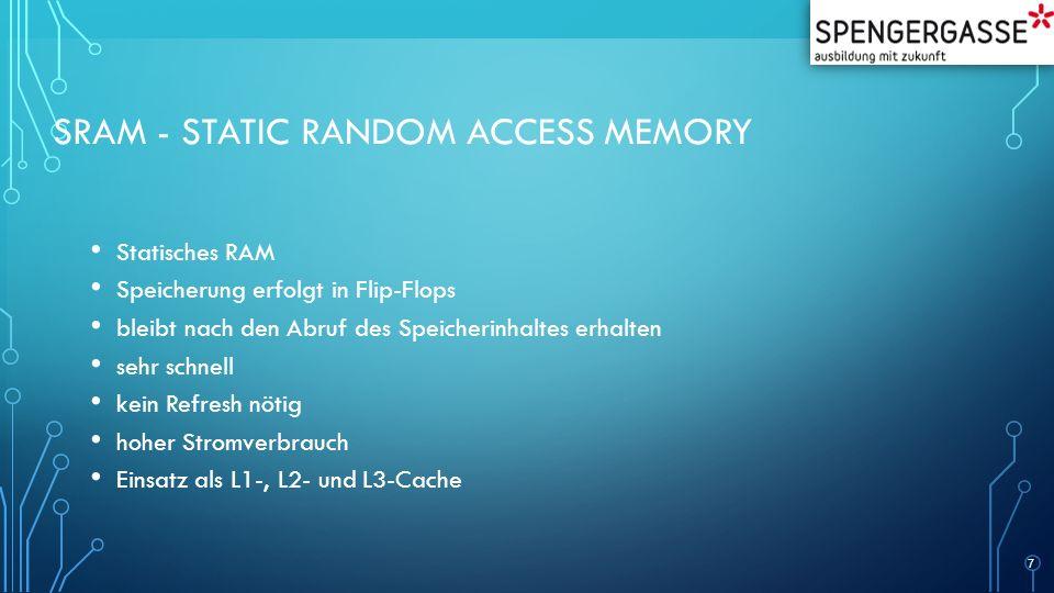 SRAM - Static Random Access Memory