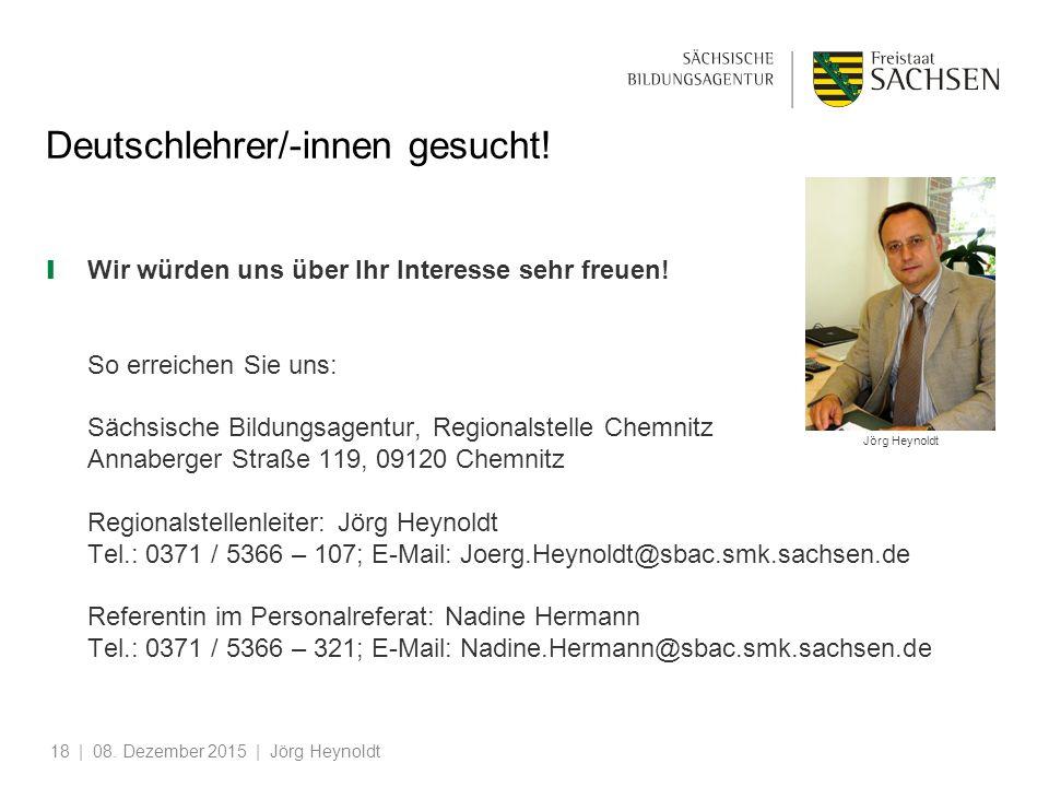 Deutschlehrer/-innen gesucht!