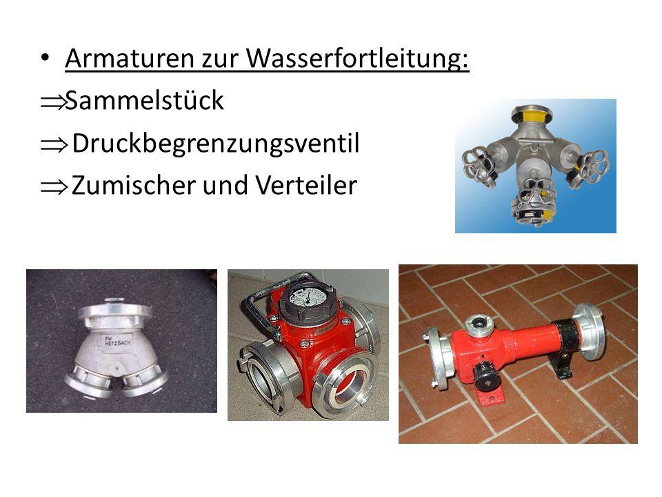 Armaturen zur Wasserfortleitung: