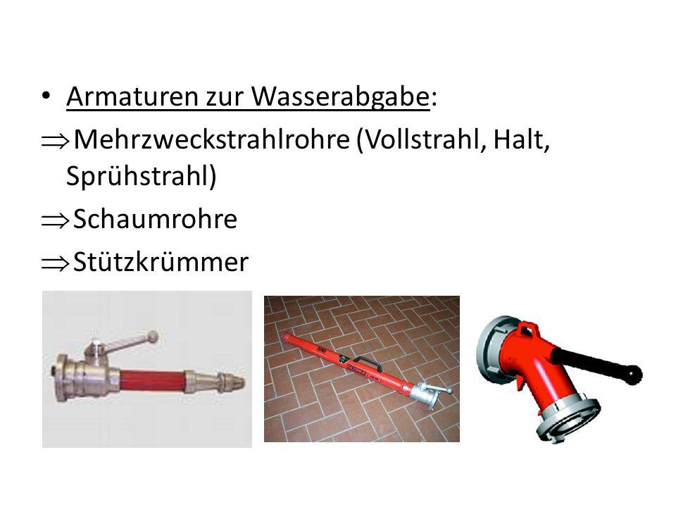 Armaturen zur Wasserabgabe:
