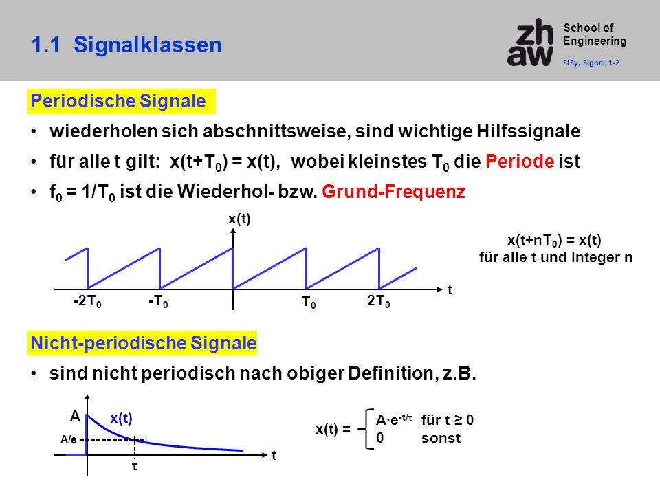1.1 Signalklassen Periodische Signale