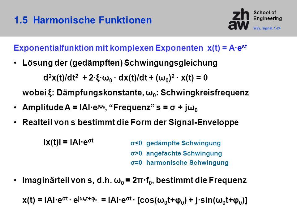 1.5 Harmonische Funktionen