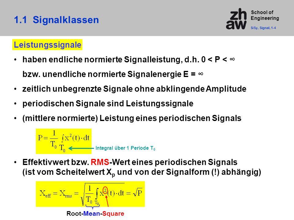 1.1 Signalklassen Leistungssignale