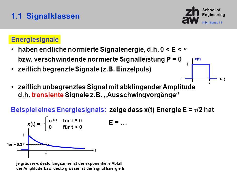 1.1 Signalklassen Energiesignale