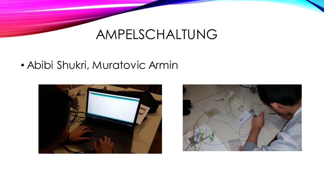 Ampelschaltung Abibi Shukri, Muratovic Armin