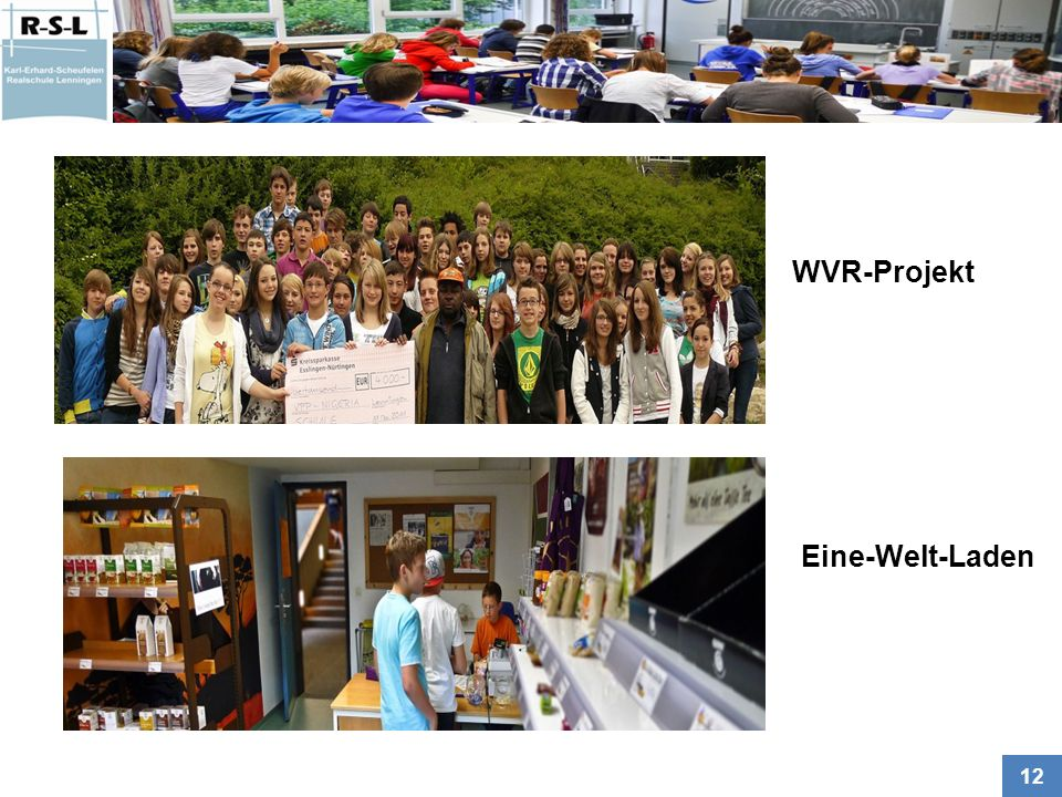 WVR-Projekt Eine-Welt-Laden