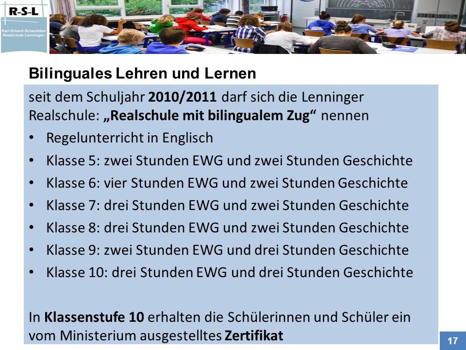 Bilinguales Lehren und Lernen