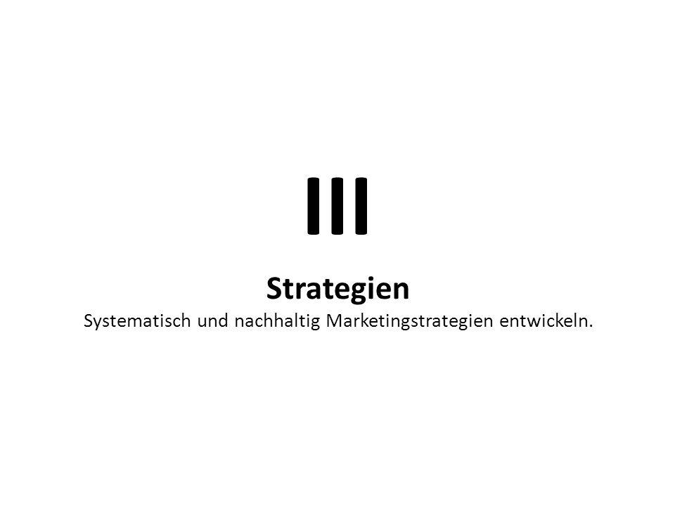 Systematisch und nachhaltig Marketingstrategien entwickeln.