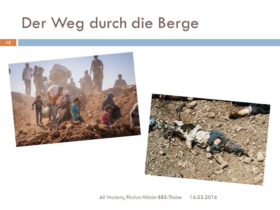 Der Weg durch die Berge Ali Nadery, Florian Hübler BBS-Thuine