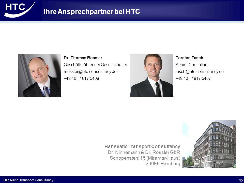 Ihre Ansprechpartner bei HTC